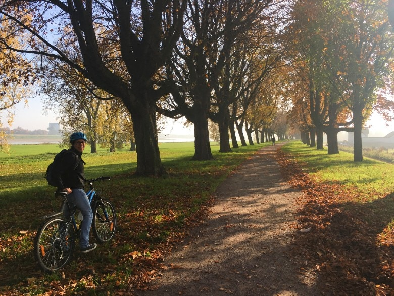 Cycling in Dusseldorf