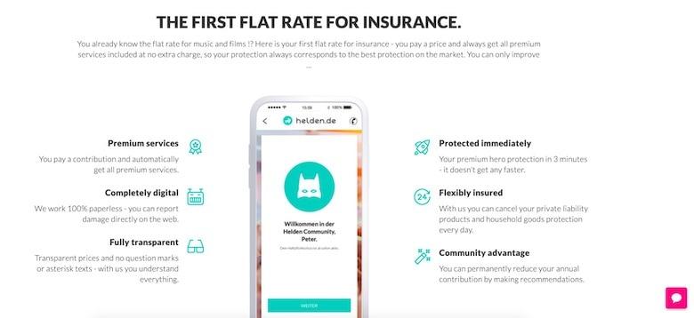 helden insurance homepage