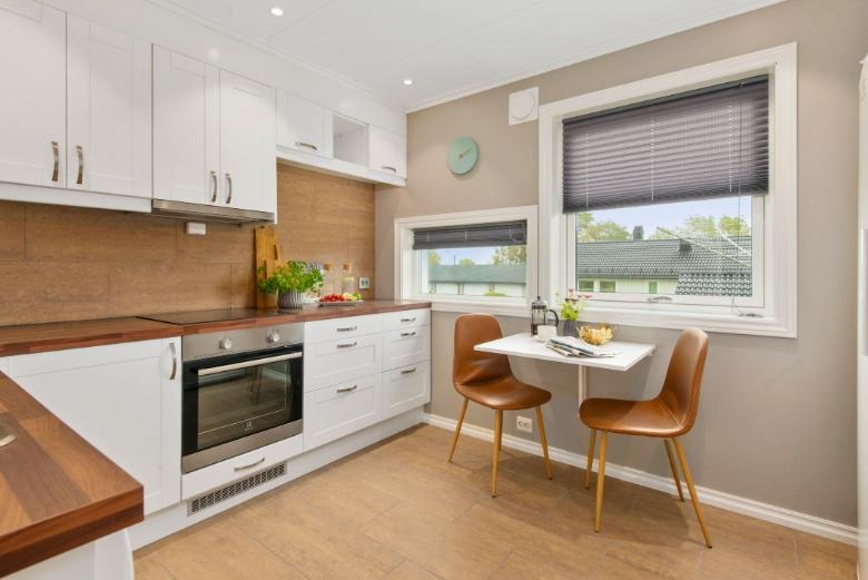 kitchen in an apartment