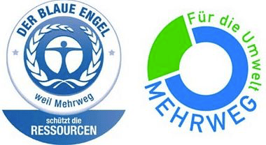 Multi-use Logos for Pfand in Germany