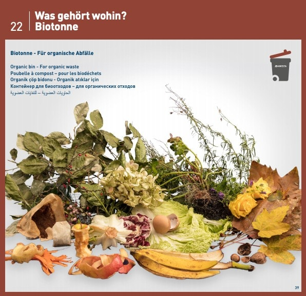 Organic trash guide Germany