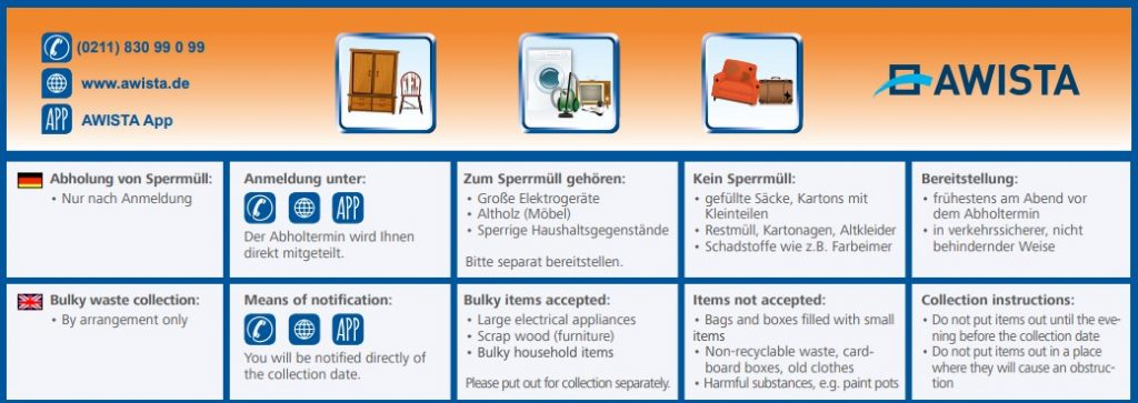 Bulky Waste Guide Germany