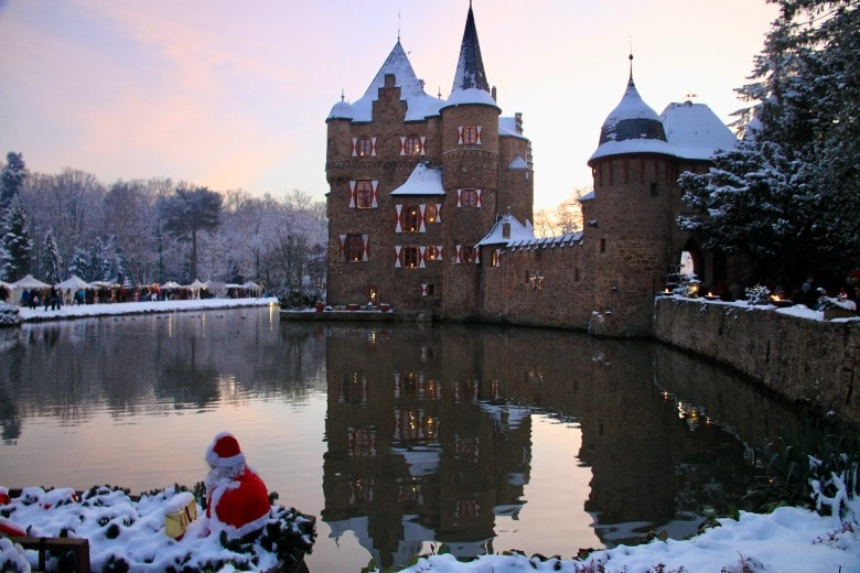 Christmas Market at Burg Satzvey in Germany
