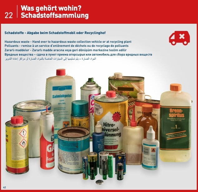 Special waste guide Germany