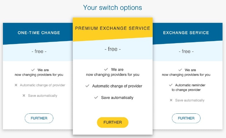 change service for electricity provider change