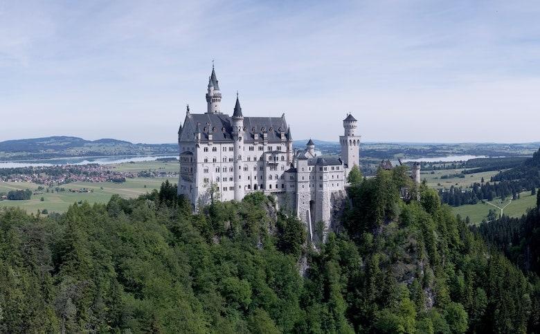 Neuschweinstein castle in Germany