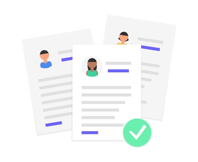 Illustration of CVs