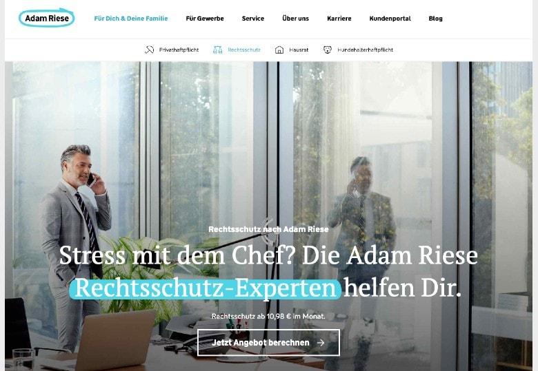 Adam Riese homepage