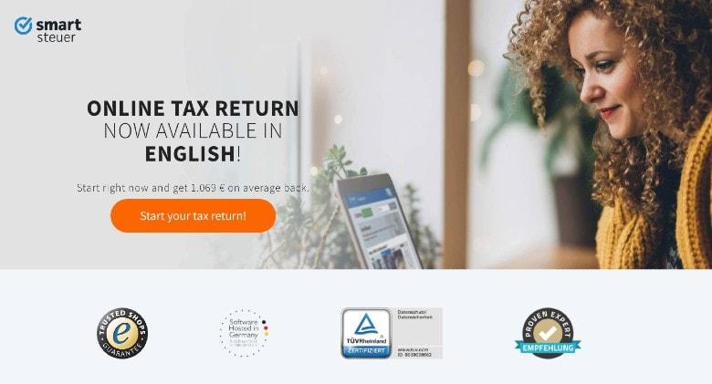 smartsteuer homepage