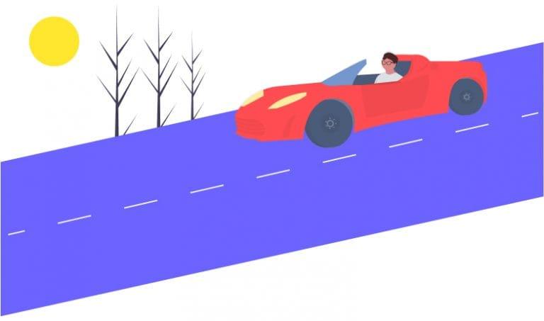 autobahn illustration
