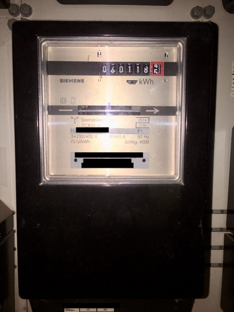 electricity meter Germany