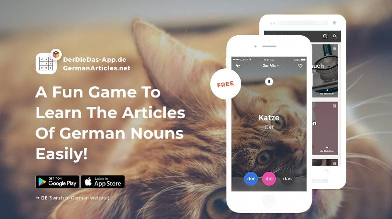 Der Die Das App Homepage