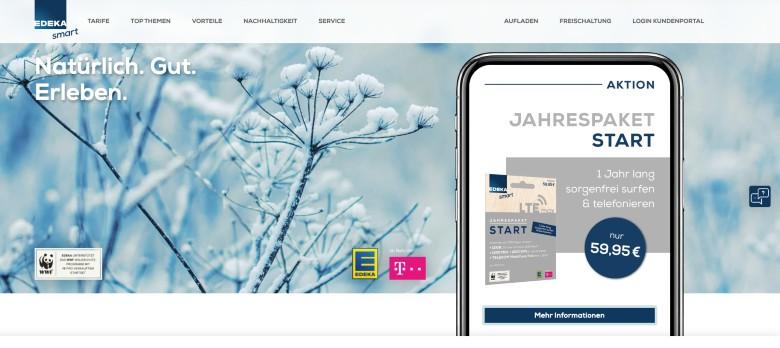 Edeka Smart Homepage
