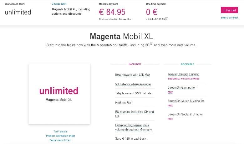 Telekom Unlimited Plan