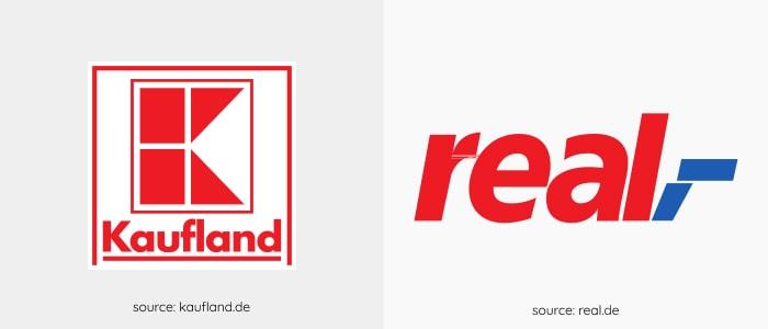 hypermarkets logos in Germany