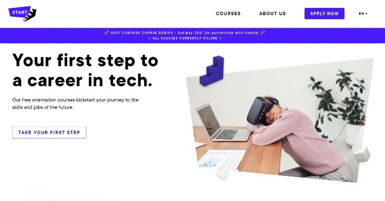 Start Steps Homepage