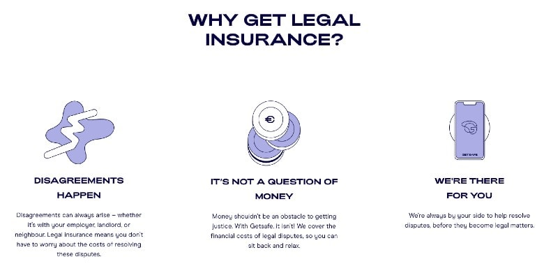 Getsafe Legale Insurance - why get it
