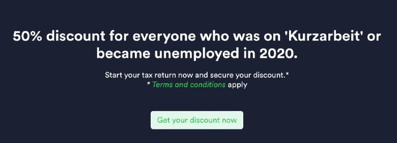 Taxfix unemployed offer